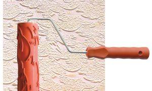 Валики для декоративной покраски стен